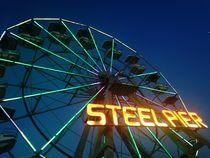 ferris wheel big wheel fairground von Kirsty Lee