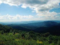 blue ridge mountains von Kirsty Lee