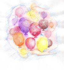Luftballons! by Alina  Rupprecht