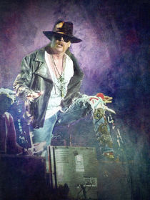 Guns N' Roses lead vocalist Axl Rose von loriental-photography
