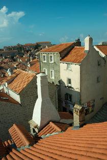 Dubrovnik Rooftops  by Rob Hawkins