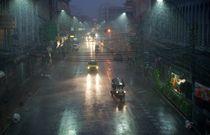 Monsoon in Bangkok von Stas Kalianov