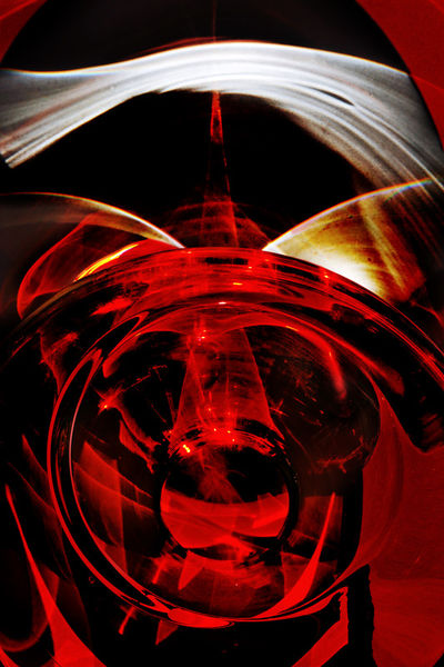 Red-glass-and-its-refraction