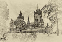 Schloss Drachenburg - sw 3 von Erhard Hess