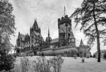 Schloss Drachenburg - sw by Erhard Hess