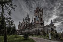 Schloss Drachenburg 91-mystisch von Erhard Hess
