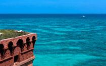 Tropical Seas Off Fort Jefferson by John Bailey