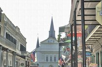 Clocktower at the end of the Street von Dan Richards