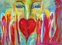 """Energiebild """"Liebe"""" 60x90 Acryl von Silvia Kafka"""