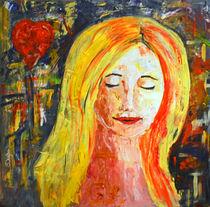 """Acrylbild 90x90 """"Jasmina`s Traum"""" von Silvia Kafka"""
