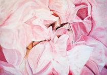 "Ölbild 100x120 ""Blütentiefe"" von Silvia Kafka"
