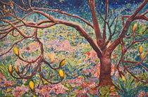 Frühlingsidylle  120 x 80 Ölbild von Silvia Kafka
