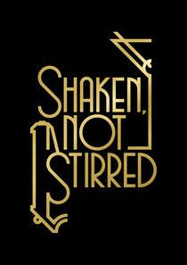 Shaken, not stirred. by Rodrigo Müller