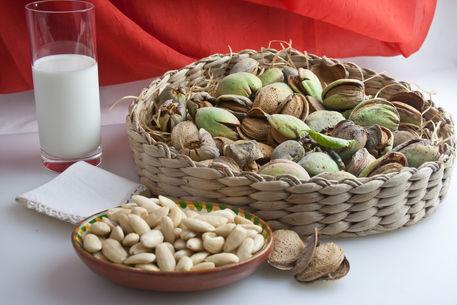 Almonds-still-life