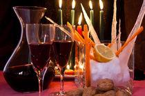 red wine still life von bruno paolo benedetti