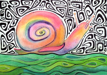 Groovy Snail by Jo Claire Hall
