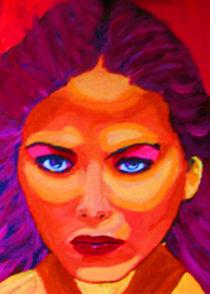Wütende junge Frau by Klaus Engels
