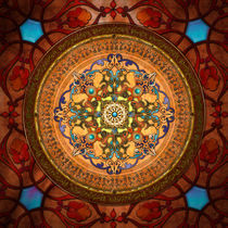 Mandala Arabia by Peter  Awax