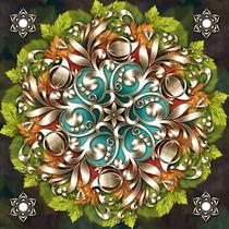 Mandala-metallic-ornament