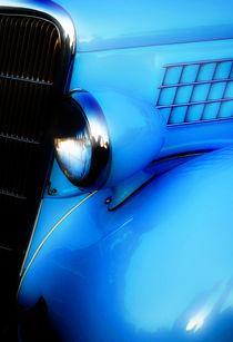Blue Ford by Mark Malinowski