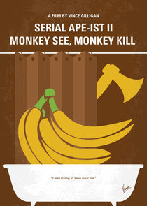 No356 My Serial Ape-ist minimal movie poster by chungkong