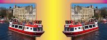 York. The River Cruise double take. von Robert Gipson