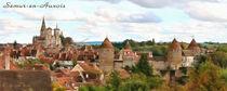 Semur-en-Auxois, Panorama by Wolfgang Pfensig