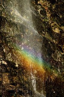 Regenbogenwasserfall von Olga Sander