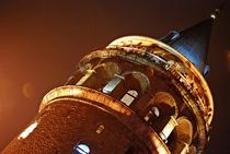 Galata-Turm in Istanbul by loewenherz-artwork