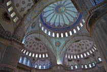 Blaue Moschee in Istanbul 2 by loewenherz-artwork