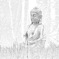 Buddha by Sybille Markgraf