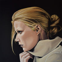Gwyneth Paltrow painting by Paul Meijering