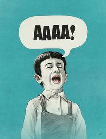 AAAA! (Blue) von Lukas Brezak
