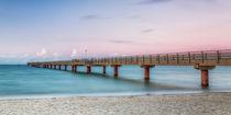 Abendstimmung an der Seebrücke Prerow by moqui
