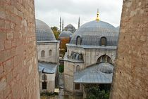 Blick von der Hagia Sophia auf die Blaue Moschee von loewenherz-artwork