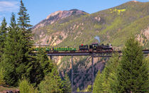 Train Over The Trestle von John Bailey