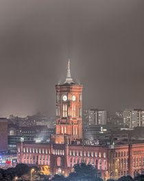 Rote Rathaus in Berlin von Steffen Klemz