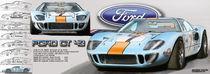 Ford GT40 1969 von Georg Friedrich Simonis
