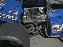 Tyrrell 003 3 von Georg Friedrich Simonis