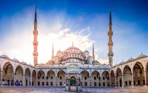 The Blue Mosque by Zoltan Duray