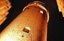 Galata-Turm bei Nacht by loewenherz-artwork