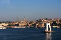 Blick über den Bosporus (Istanbul)