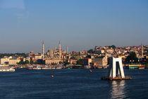 Blick über den Bosporus (Istanbul) von ann-foto