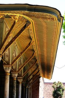 Das Gold am Topkapi Palast in Istanbul by ann-foto