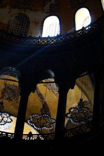 Der Lichtstrahl Gottes (hagia sophia) von ann-foto