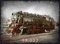 Dampflok 99 222 von Roland H. Palm