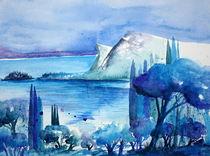 Manerba del Garda, Gardasee von Inez Eckenbach-Henning