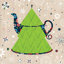 Christmas Tree Shaped Teapot