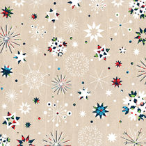 Colourful Christmas Snowflakes by kata