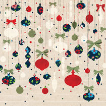 Colourful Christmas Ornaments by kata